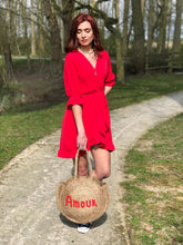 Robe Libertad rouge corail