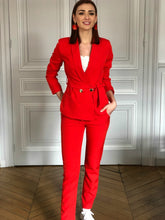 Veste Louisiane rouge corail