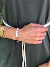Bracelet Happy coloré
