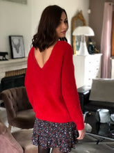 Pull Honorine rouge