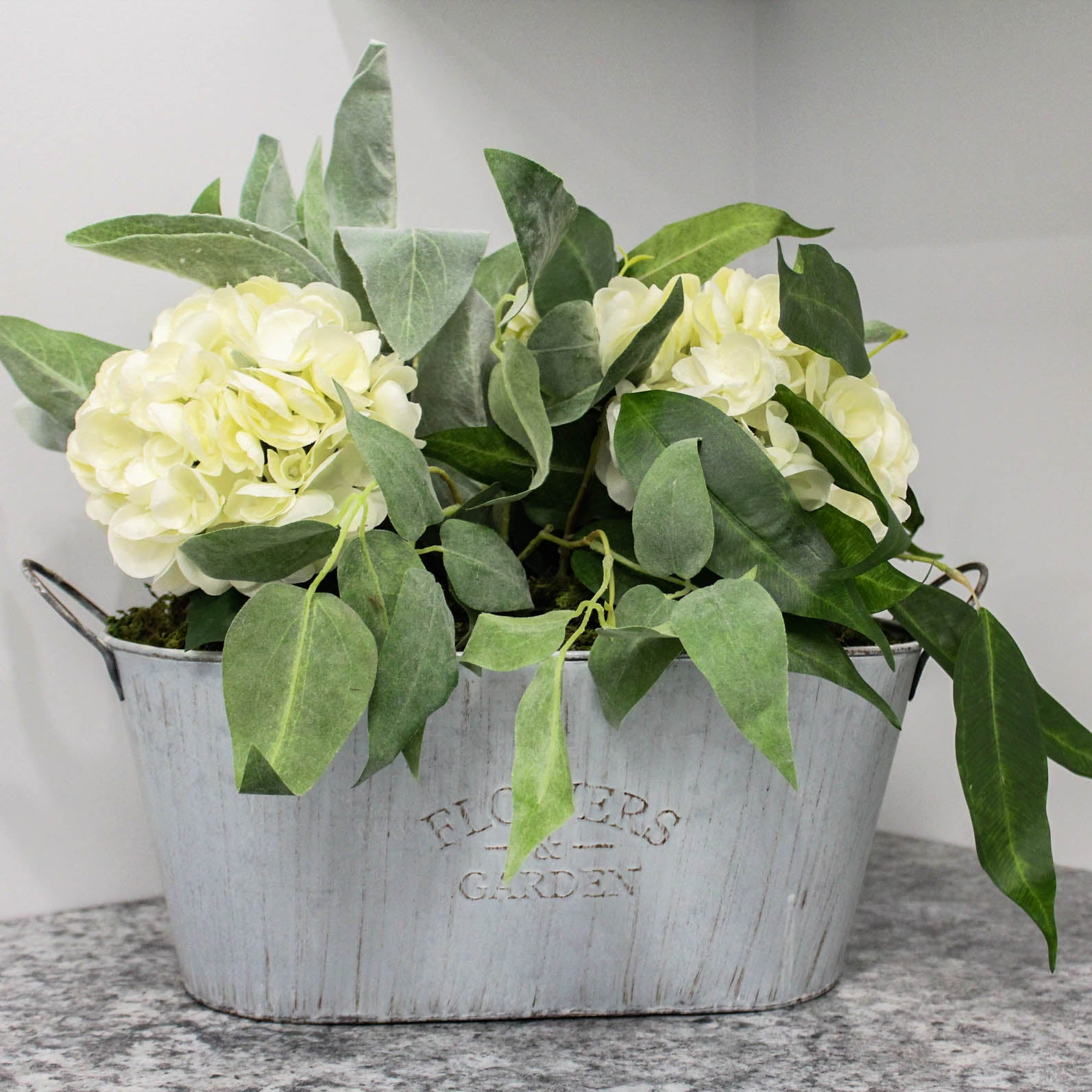 Arrangement in Garden Tin