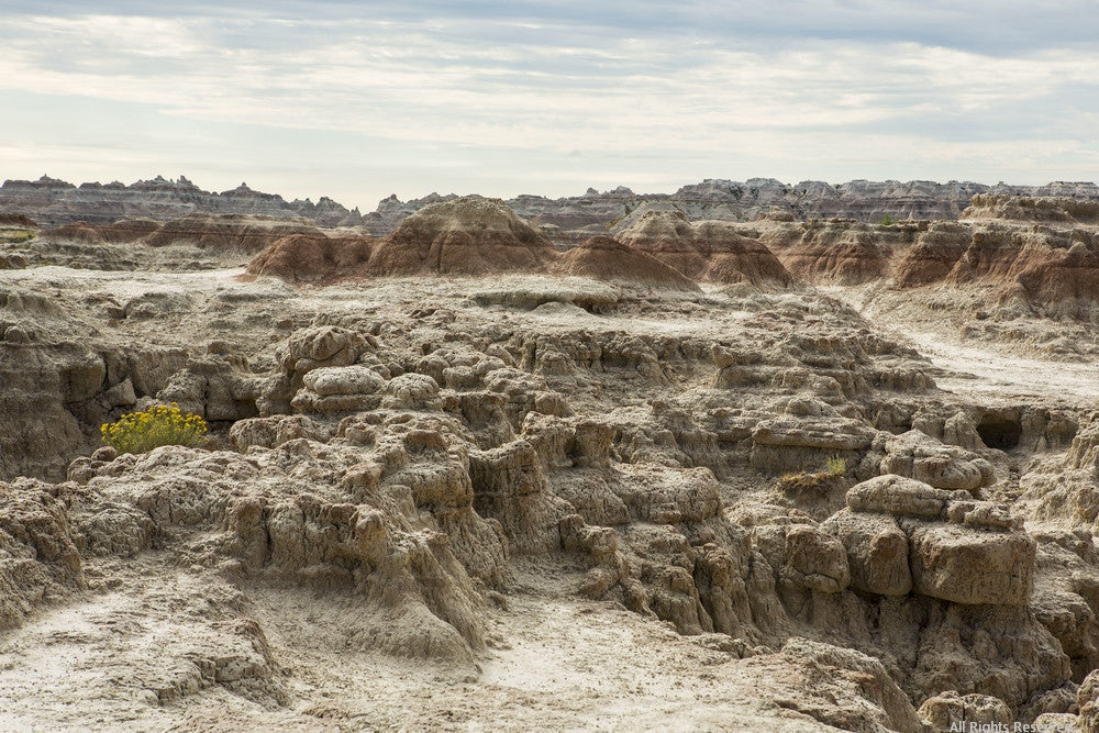 Badlands Moonscape