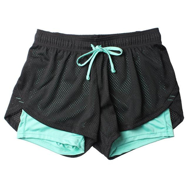 Double Layer Sport Shorts
