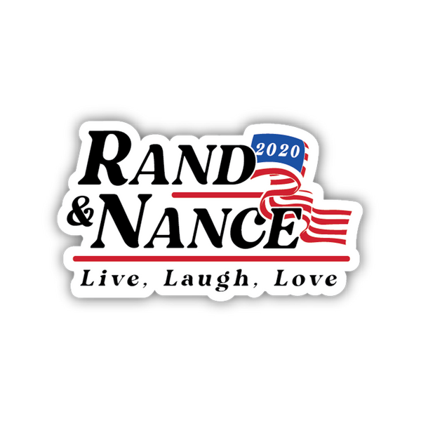 Rand & Nance 2020 Sticker