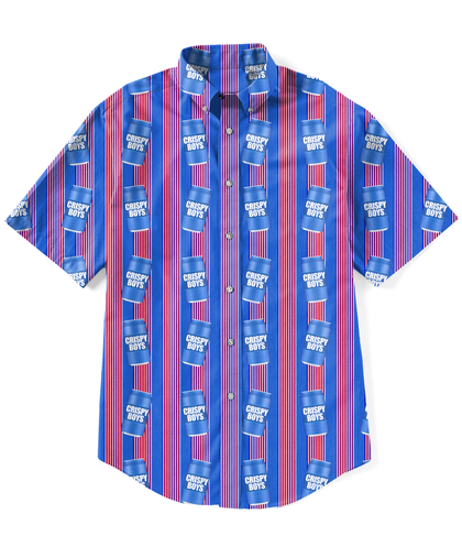 Crispy Boys - Woven Button Up