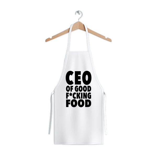 'CEO of Good F*cking Food' Apron