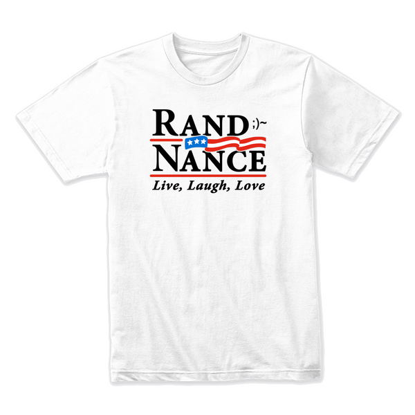 Rand and Nance for President - White