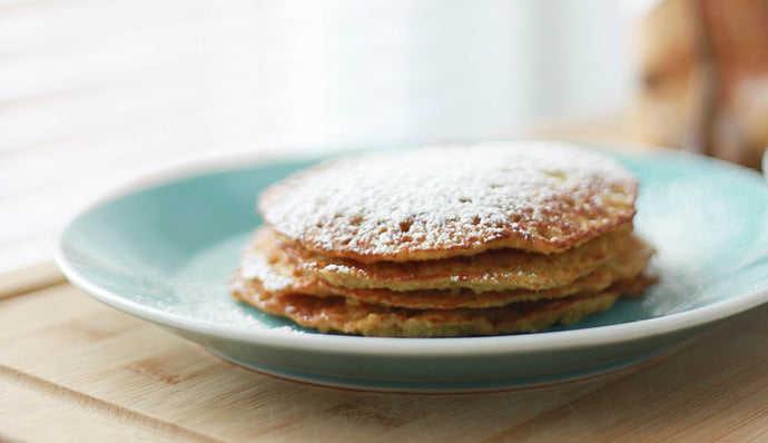 A reason to get out of bed – healthy and delicious banana pancakes