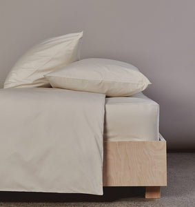 The Crisp & Cool Organic luxury duvet cover
