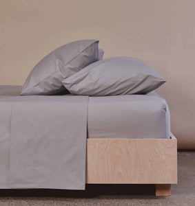 The Crisp & Cool Organic luxury flat sheet