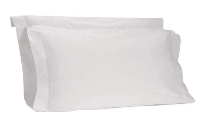 The Crisp & Cool Organic luxury Oxford pillow cases