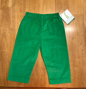 Zuccini Kids Corduroy Pants in Green