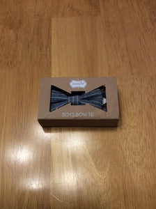 Mud Pie Bow Tie Chambray