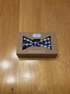 Mud Pie Bow Tie Gingham