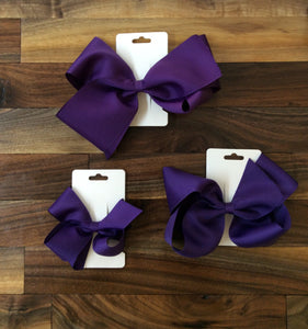 Bows - Purple