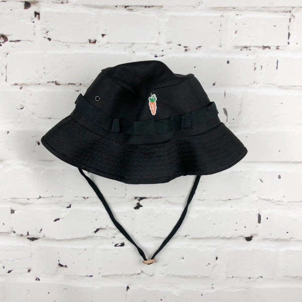 Carrots Rotcho Patch Boonie Hat - Black