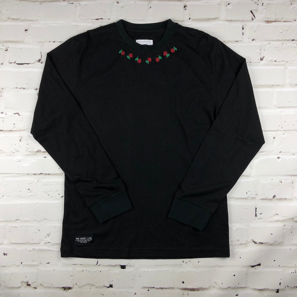 The Quiet Life Rosary Long Sleeve - Black