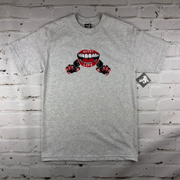The Quiet Life x Ben Venom Lips T-Shirt - Ash Grey