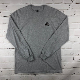 The Quiet Life x Ben Venom Panther Long Sleeve T-Shirt - Heather Grey