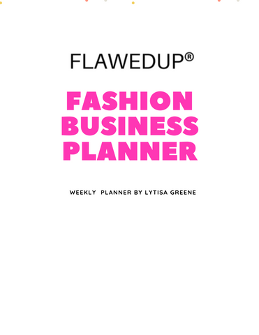 Fashion Business Planner