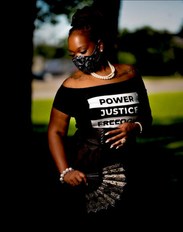 Power Justice Freedom Shirt
