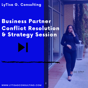 Business Partner Conflict Resolution Session