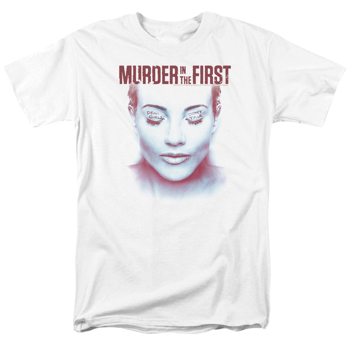 Murder In The First - Don't Talk Short Sleeve Adult 18/1 Tee - Special Holiday Gift