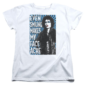 Rocky Horror Picture Show - Face Ache Short Sleeve Women's Tee - Special Holiday Gift