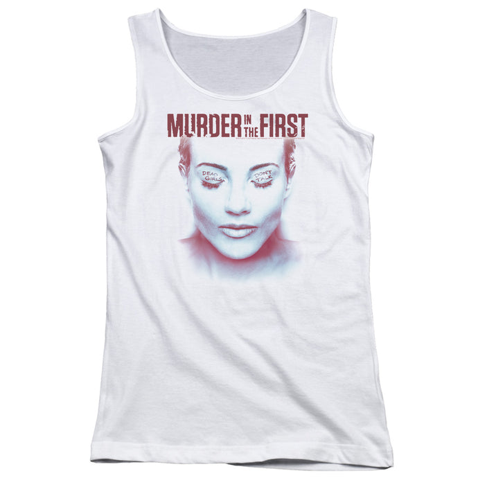 Murder In The First - Don't Talk Juniors Tank Top - Special Holiday Gift