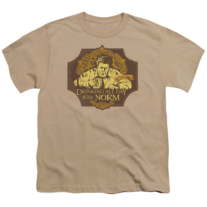 Cheers - The Norm Short Sleeve Youth 18/1 Tee - Special Holiday Gift