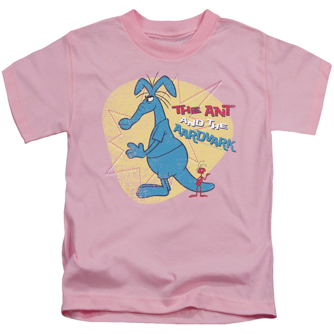 Pink Panther - Ant And Aardvark Short Sleeve Juvenile 18/1 Tee - Special Holiday Gift