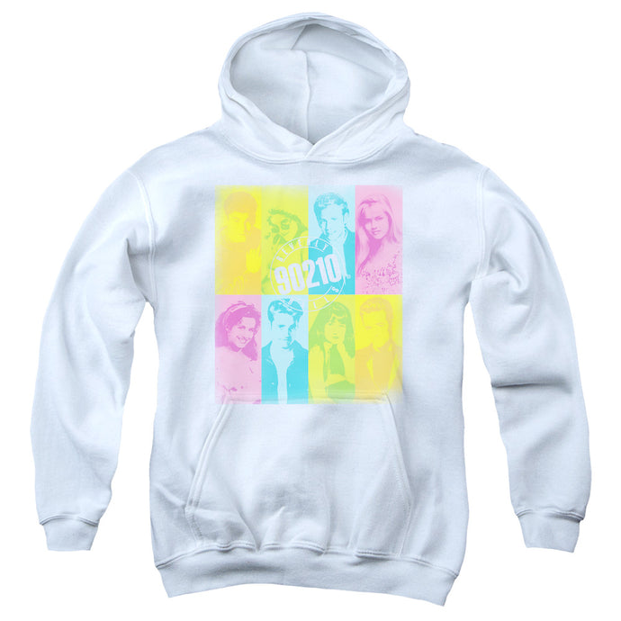 90210 - Color Block Of Friends Youth Pull Over Hoodie - Special Holiday Gift