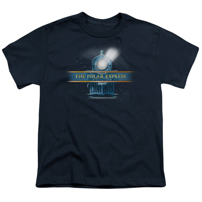 Polar Express - Train Logo Short Sleeve Youth 18/1 Tee - Special Holiday Gift