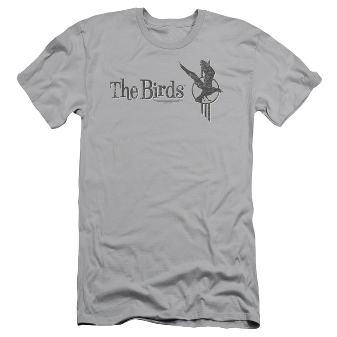 Birds - Distressed Short Sleeve Adult 30/1 Tee - Special Holiday Gift