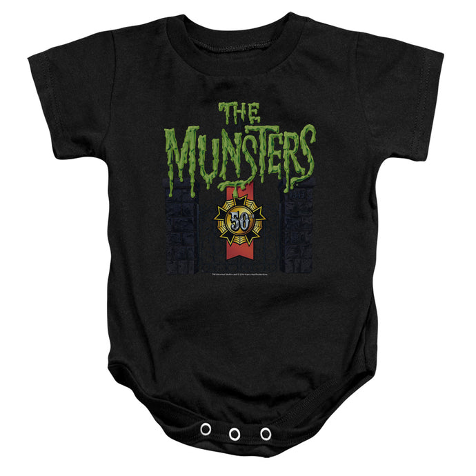 The Munsters - 50 Year Logo Infant Snapsuit - Special Holiday Gift