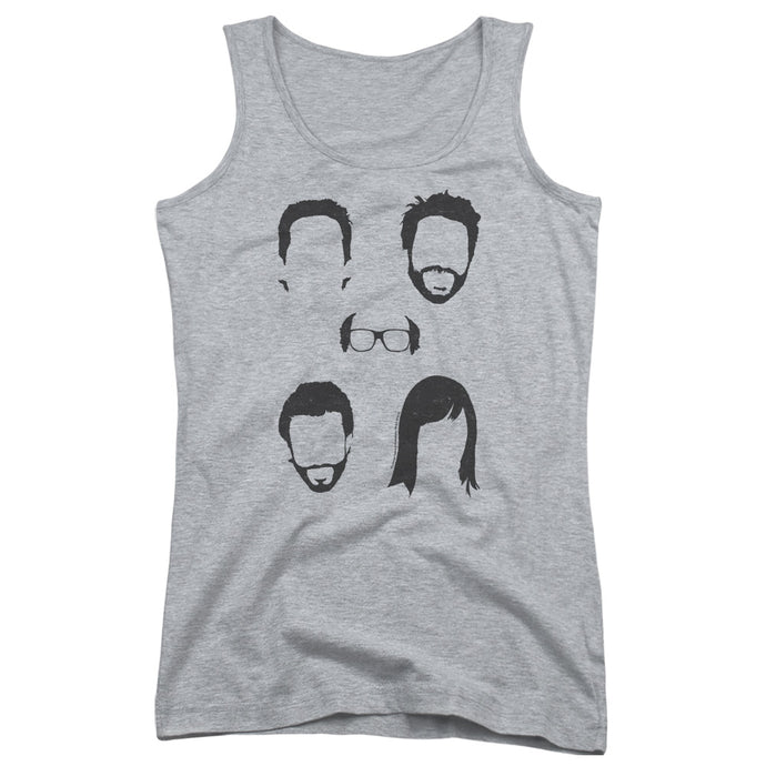 Its Always Sunny In Philadelphia - Casted Shadows Juniors Tank Top - Special Holiday Gift