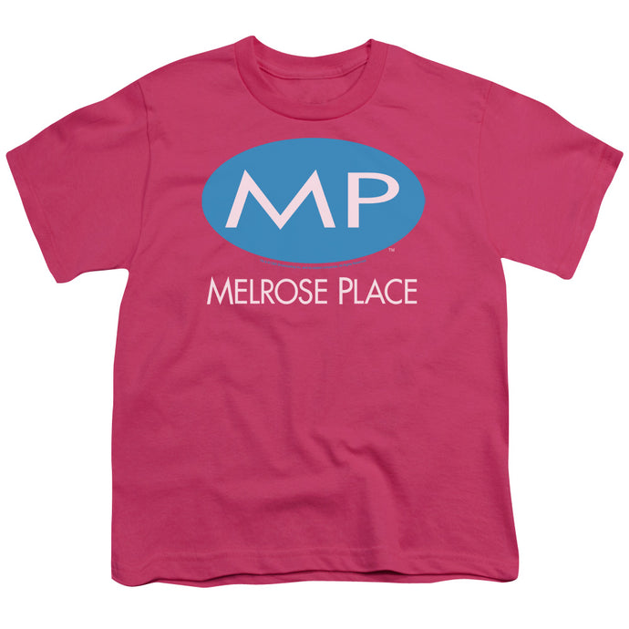 Melrose Place - Melrose Place Logo Short Sleeve Youth 18/1 Tee - Special Holiday Gift