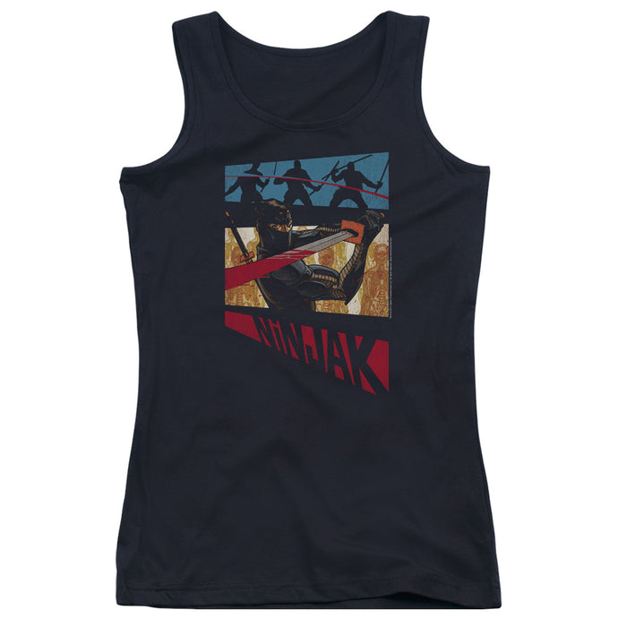 Ninjak - Panel Juniors Tank Top - Special Holiday Gift