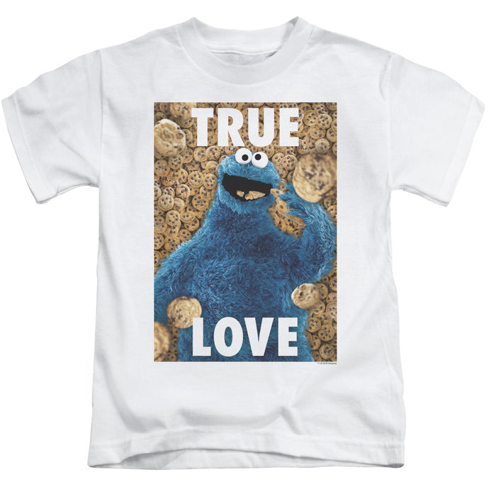 Sesame Street - Beautiful Cookies Short Sleeve Juvenile 18/1 Tee - Special Holiday Gift