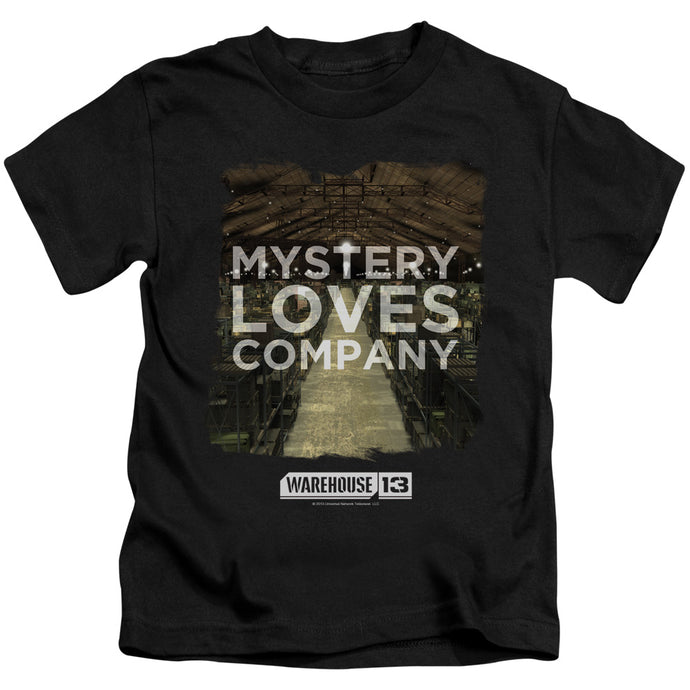 Warehouse 13 - Mystery Loves Short Sleeve Juvenile 18/1 Tee - Special Holiday Gift