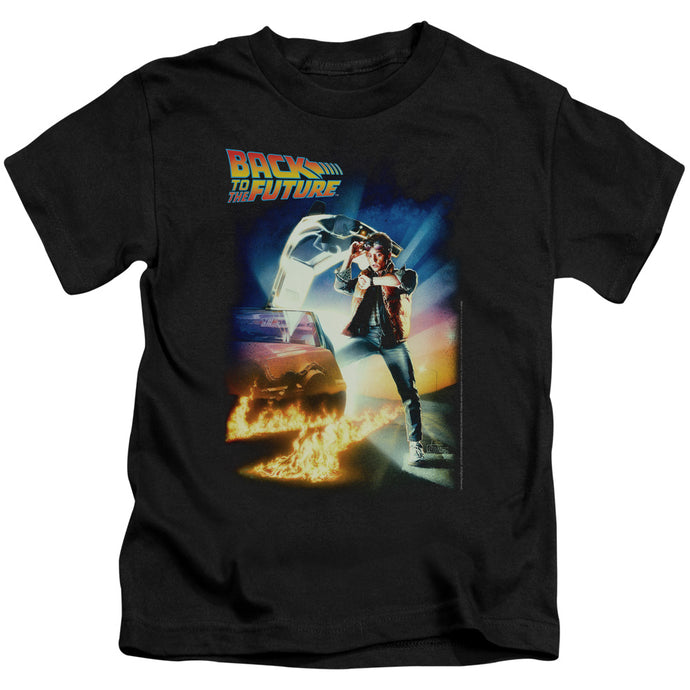 Back To The Future - Poster Short Sleeve Juvenile 18/1 Tee - Special Holiday Gift