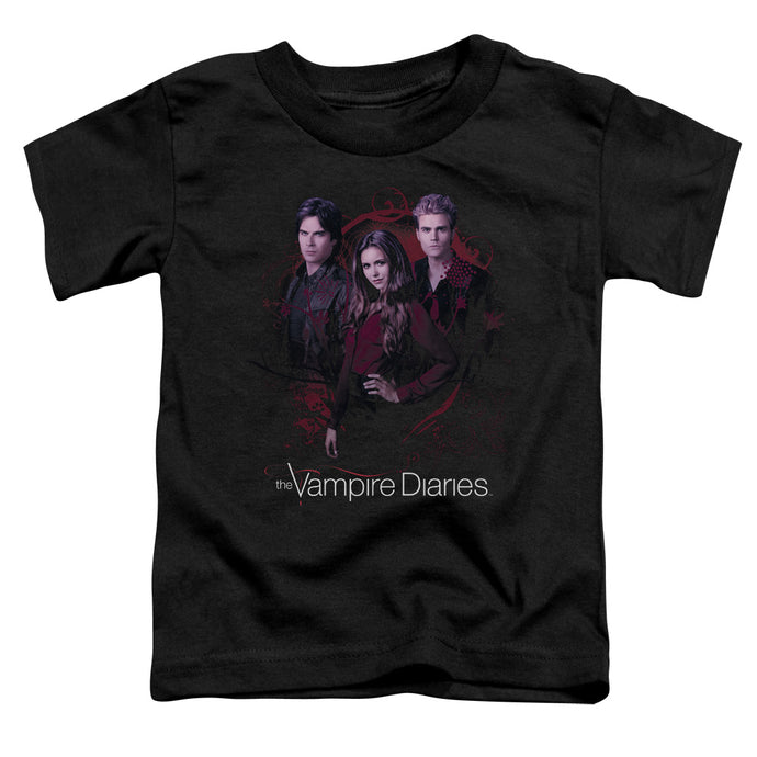 Vampire Diaries - Company Of Three Short Sleeve Toddler Tee - Special Holiday Gift