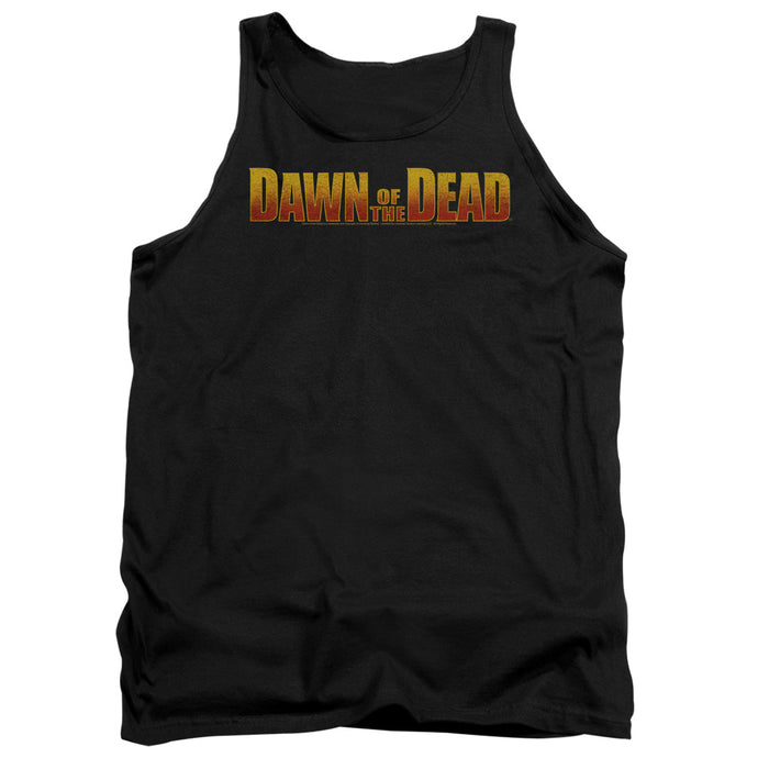 Dawn Of The Dead - Dawn Logo Adult Tank - Special Holiday Gift