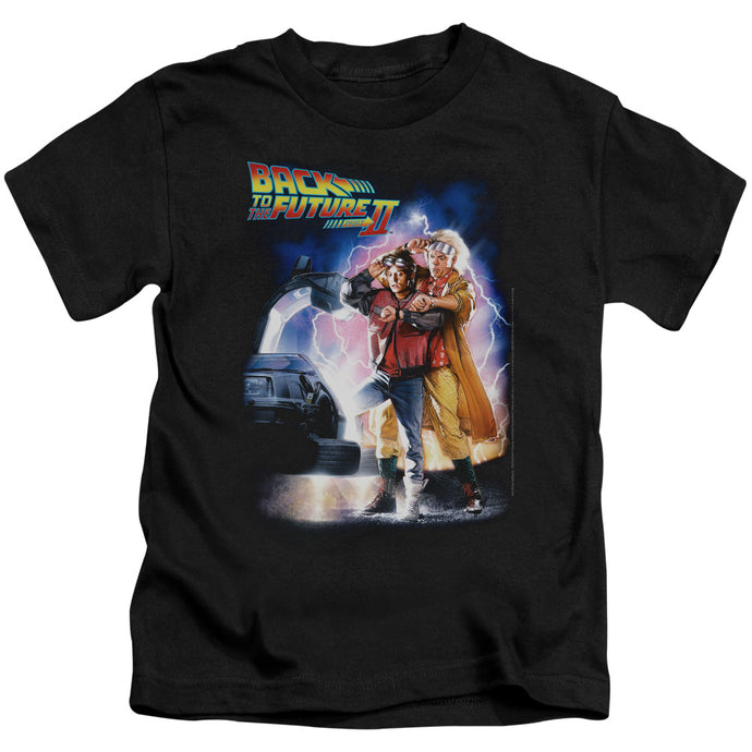 Back To The Future Ii - Poster Short Sleeve Juvenile 18/1 Tee - Special Holiday Gift