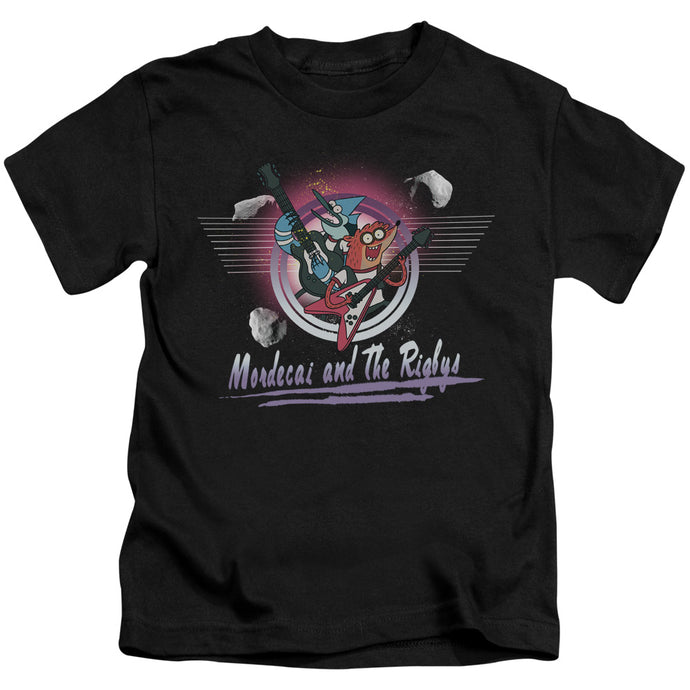 The Regular Show - Mordecai & The Rigbys Short Sleeve Juvenile 18/1 Tee - Special Holiday Gift