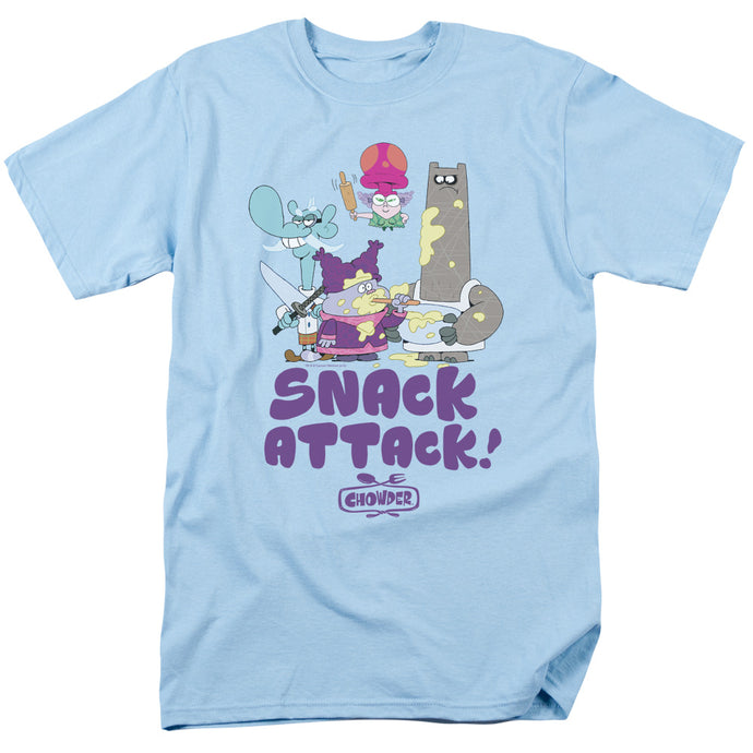 Chowder - Snack Attack Short Sleeve Adult 18/1 Tee - Special Holiday Gift