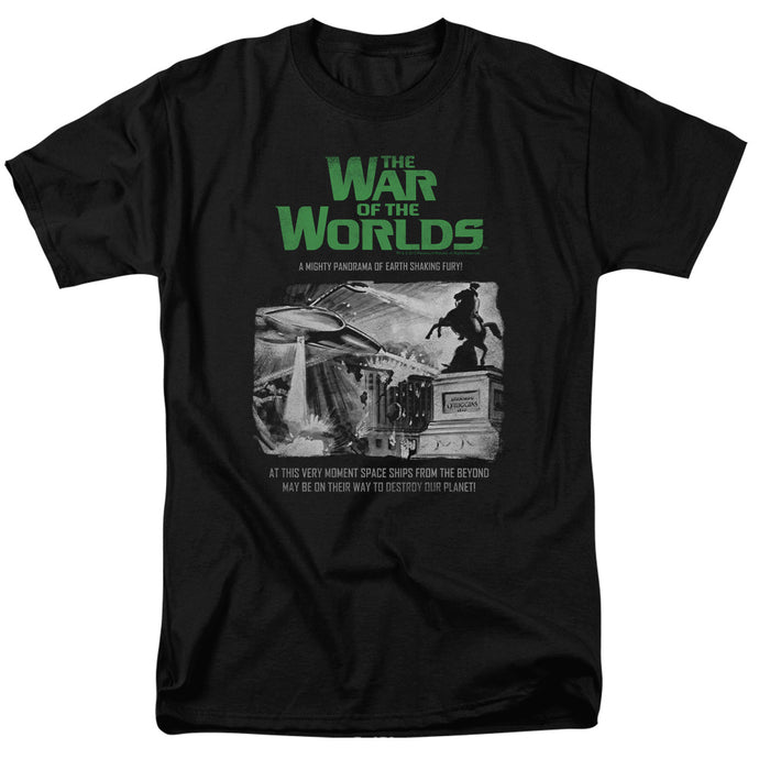 War Of The Worlds - Attack People Poster Short Sleeve Adult 18/1 Tee - Special Holiday Gift