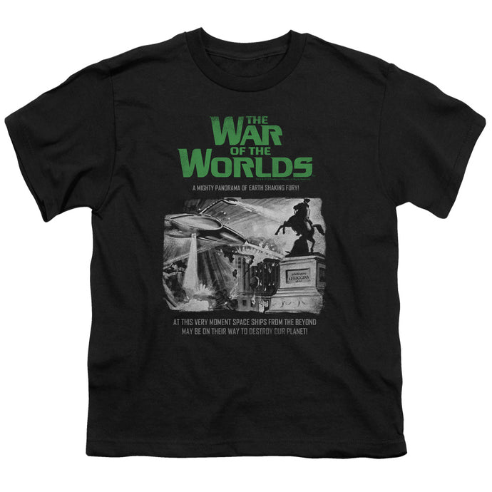 War Of The Worlds - Attack People Poster Short Sleeve Youth 18/1 Tee - Special Holiday Gift