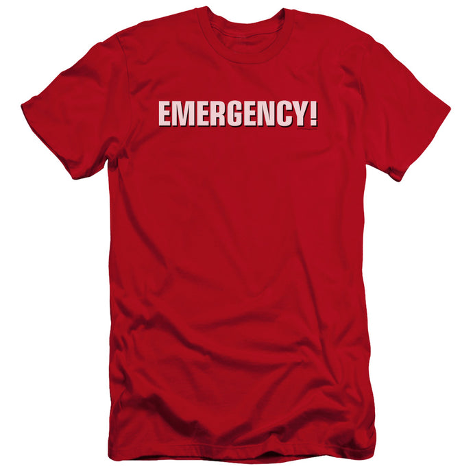 Emergency - Logo Premium Canvas Adult Slim Fit 30/1 - Special Holiday Gift