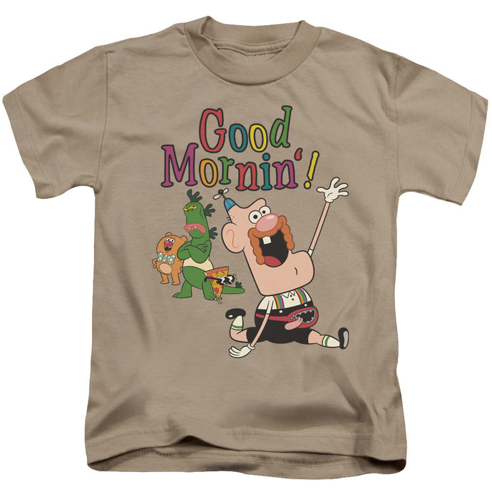 Uncle Grandpa - Good Mornin Short Sleeve Juvenile 18/1 Tee - Special Holiday Gift